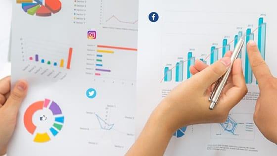 relatórios redes sociais - dashboard