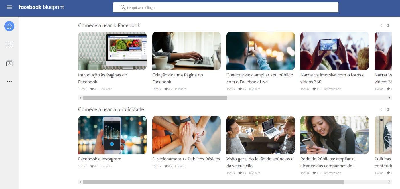 facebook blueprint cursos