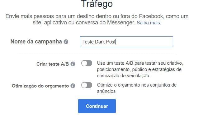 nome-da-campanha-dark-post-facebook