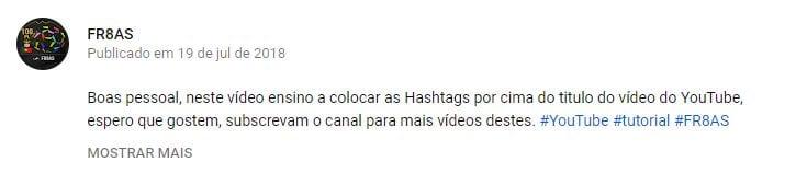 hashtags-youtube-descrição