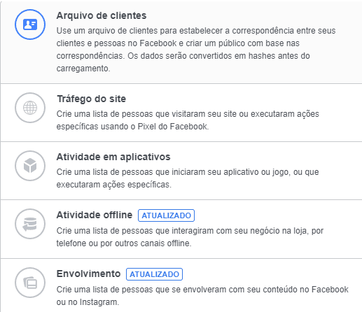 remarketing-no-facebook-público-personalizado