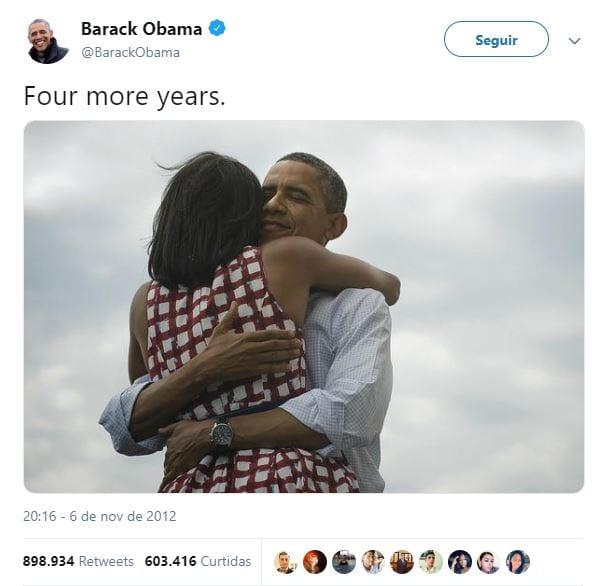 post barack obama no twitter