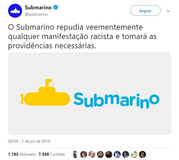 retweets submarino