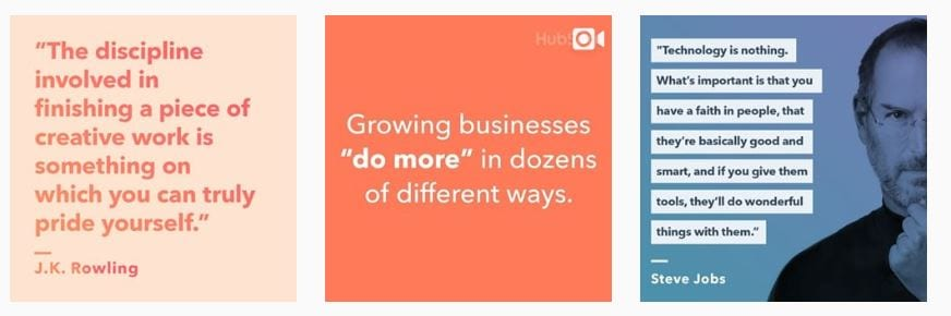 melhore perfis do instagram Hubspot