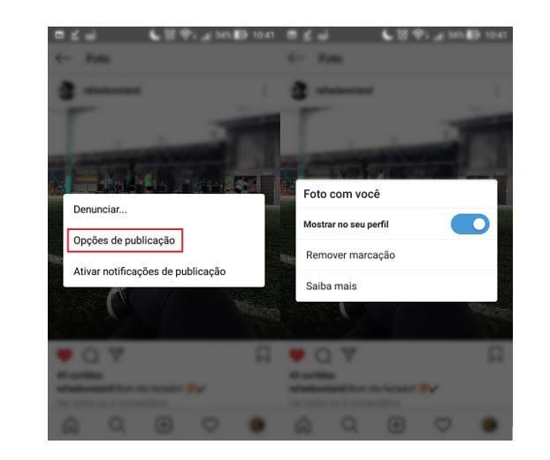 dicas de instagram excluir ou aprovar marcações