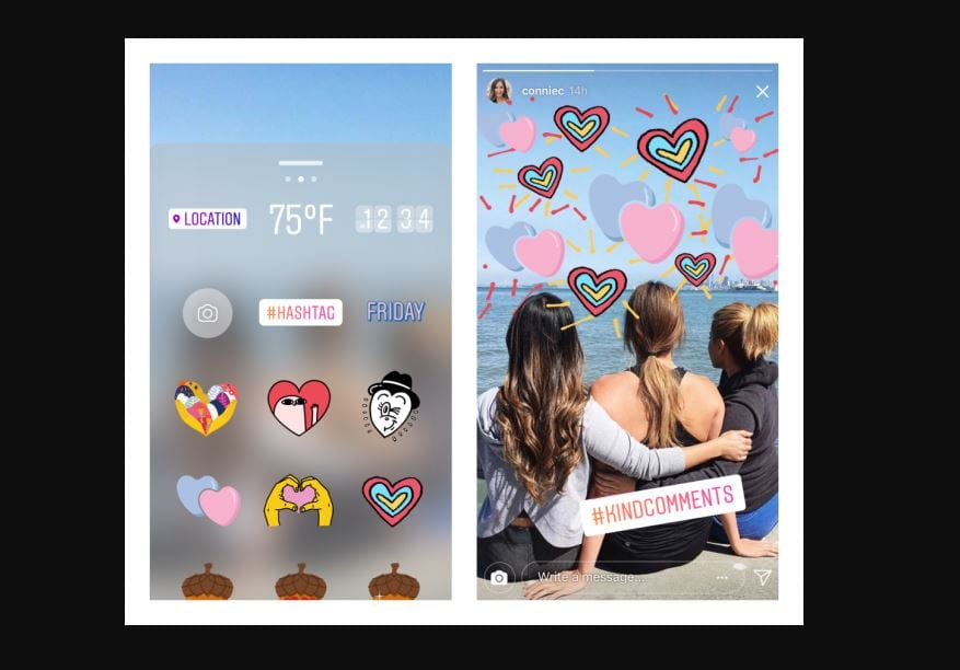 stickers instagram