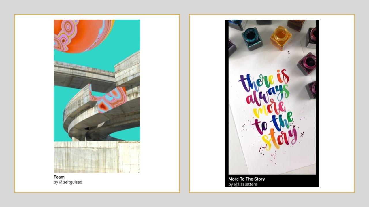 Imagem de publicidade no Instagram no formato de Stories