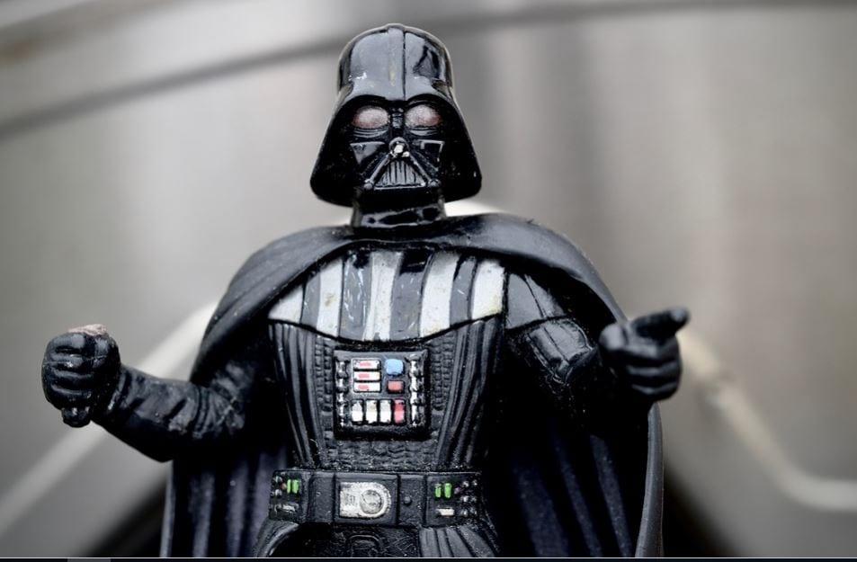Foto de perfil do Instagram: imagem do Darth Vader
