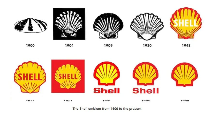 Foto de perfil do Instagram: imagem dos logotipos da Shell