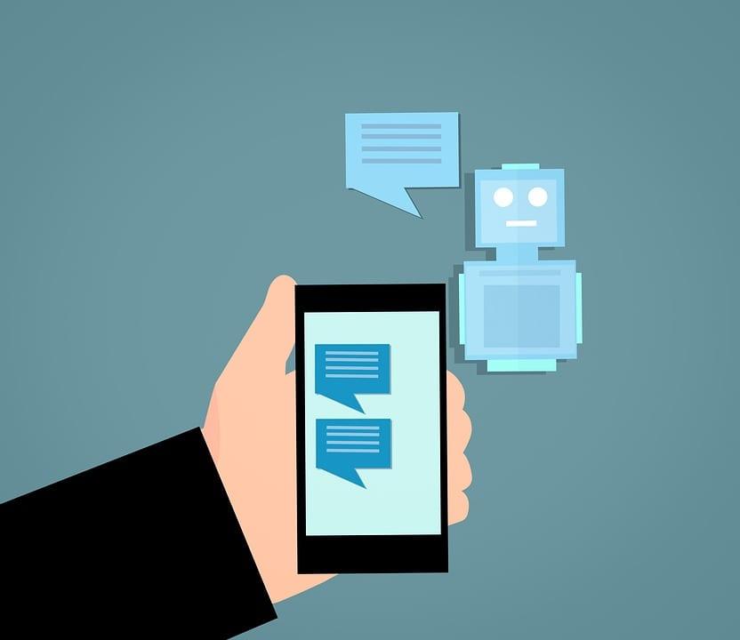 Bots para Facebook: imagem do robô no Chat