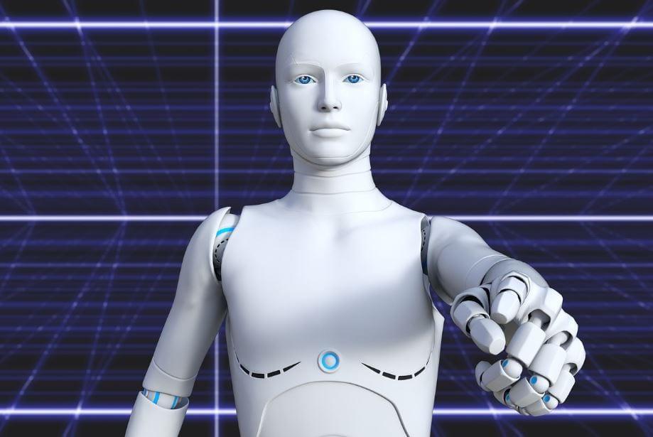 Bots para Facebook: imagem de um robô