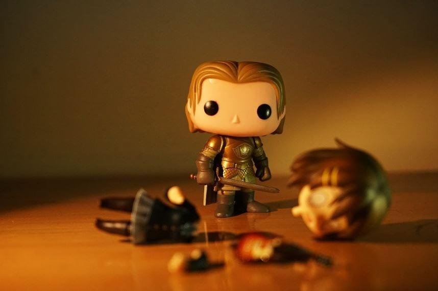 Fanpage do Facebook: imagem em desenho de Game of Thrones