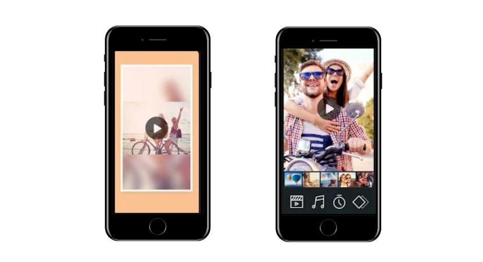 Aplicativos para Instagram: imagem da tela do app Photogrid