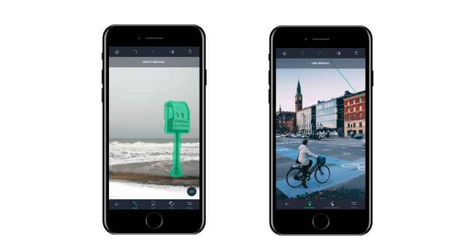 Aplicativos para Instagram: imagem da tela do app Touch Retouch