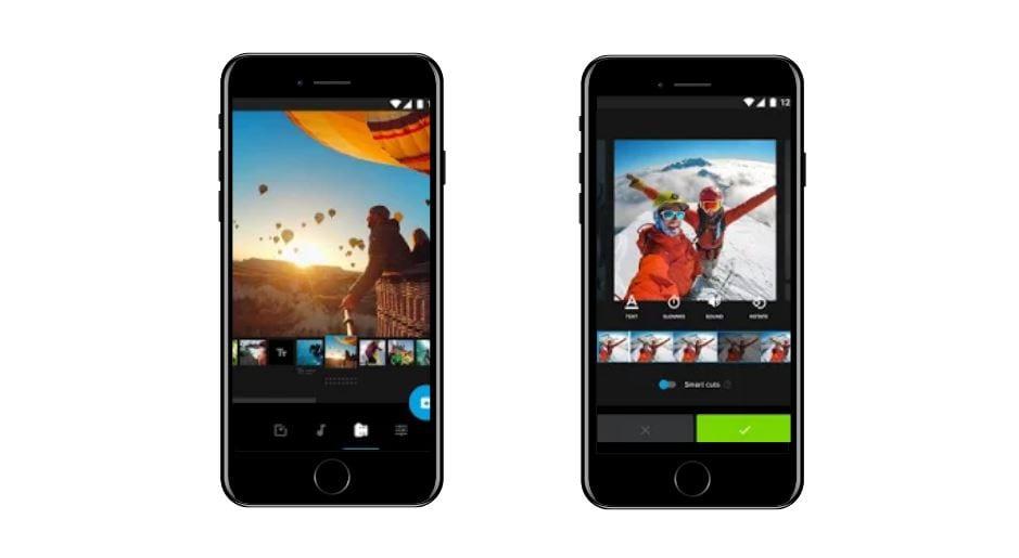 Aplicativos para Instagram: imagem da tela do app Quik