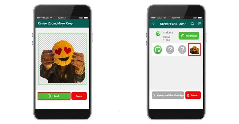 Como fazer figurinhas no WhatsApp: imagem da tela do aplicativo Personal Stickers.