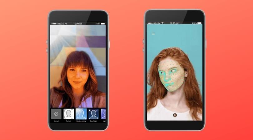 YouTube Stories: imagem de dois celulares com fotos de duas mulheres.