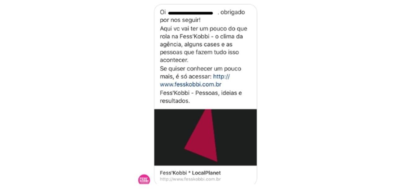 Mensagem automática no Instagram 4
