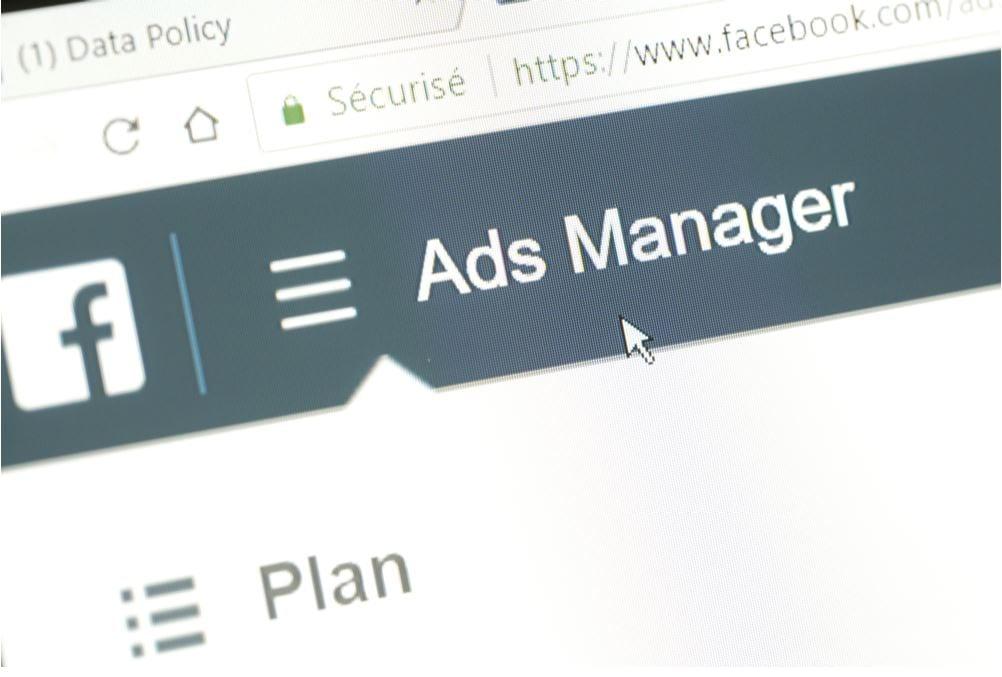 ads manager imagem do gerenciador de anúncios do Facebook