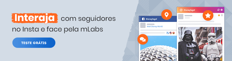Banner_Feed_Redes_Sociais: arte com convite para a pessoa testar gratuitamente a funcionalidade da mLabs.