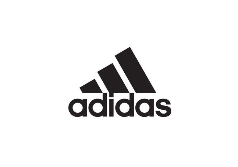 Como criar um logo: imagem do logo da Adidas