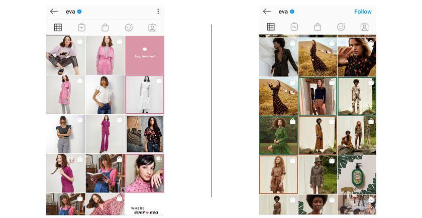 Como vender roupas pelo Instagram: imagem da biografia da marca Quero TSF no Instagram