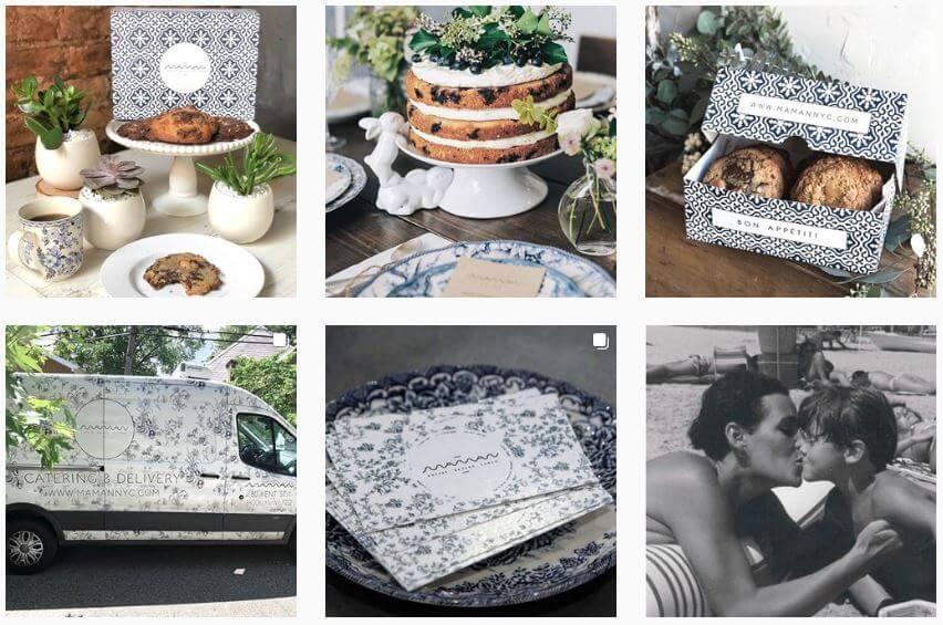 Redes sociais para restaurantes: imagem do perfil do instagram do restaurante Maman