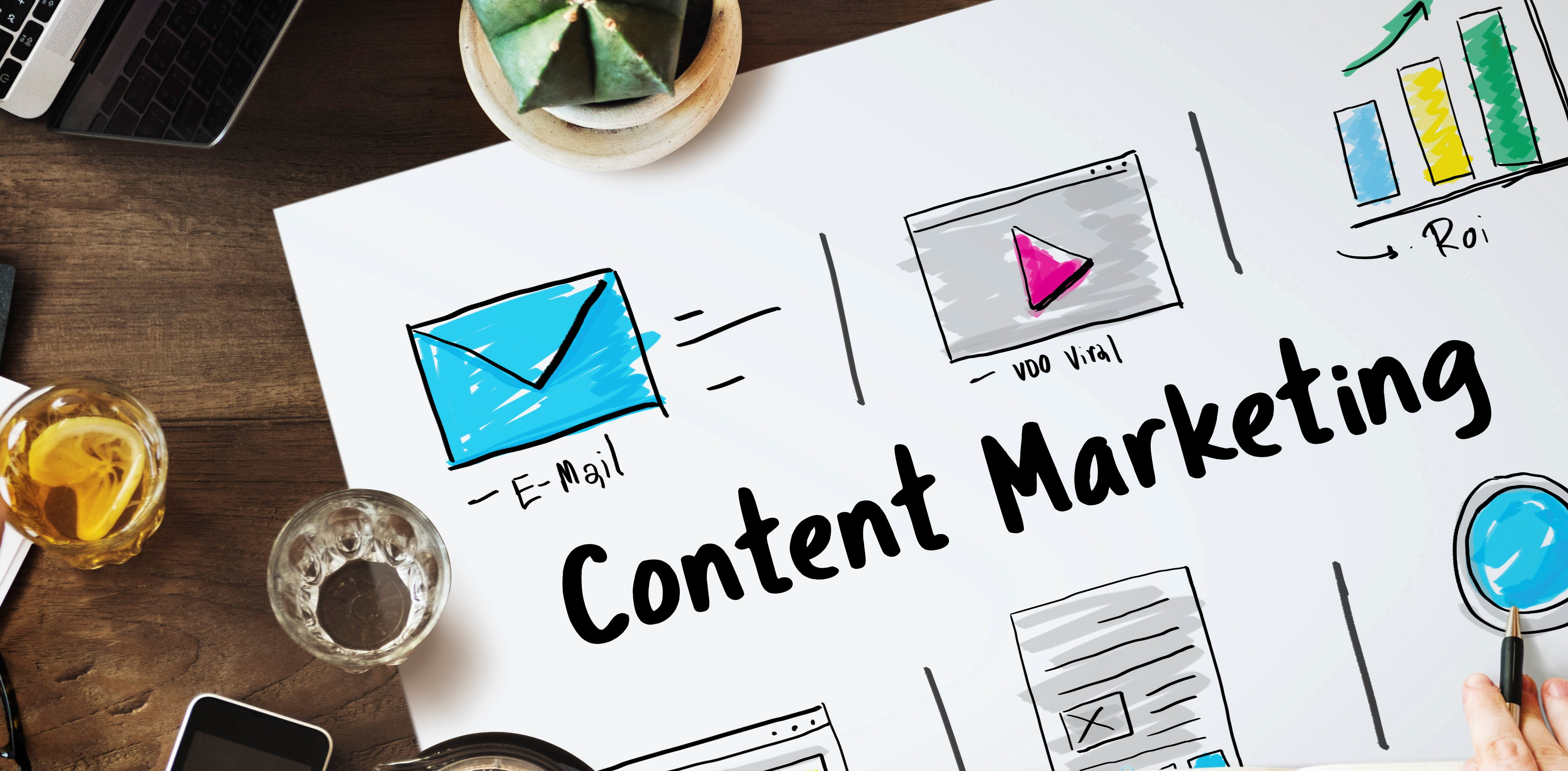 Como o Marketing de Conteúdo pode ajudar na construção da sua marca