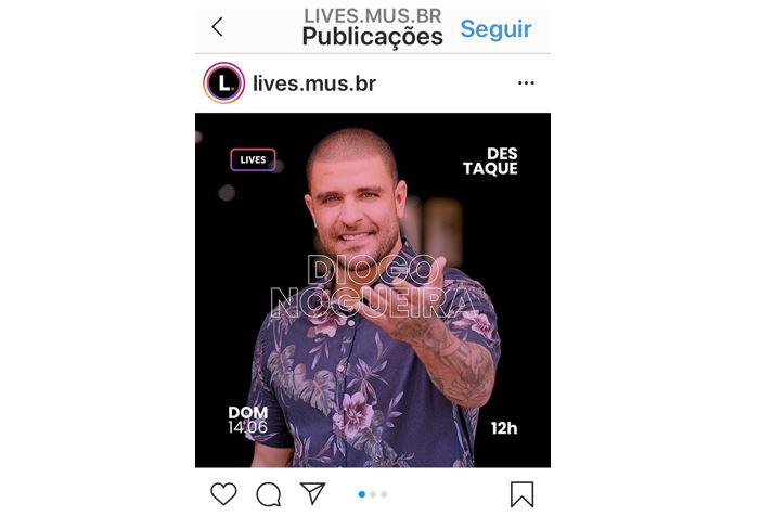 Novidades do Instagram: imagem de uma live no IGTV