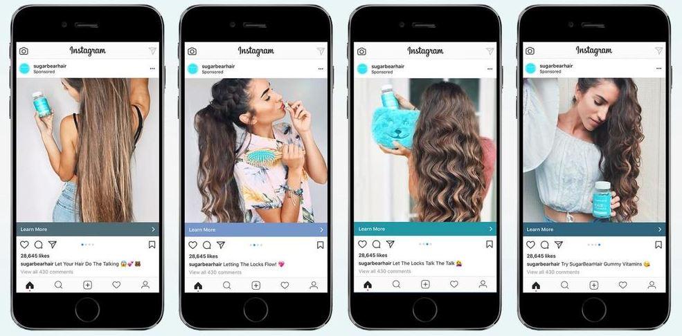 Social Ads: imagem de um anúncio no Instagram