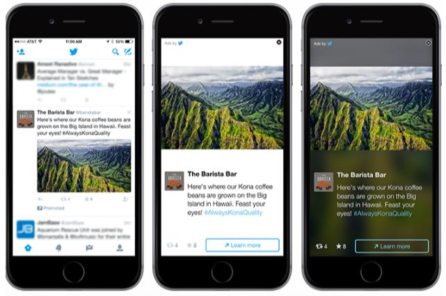 Social Ads: imagem de um anúncio no Twitter