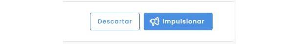 Post patrocinado: imagem do botão impulsionar