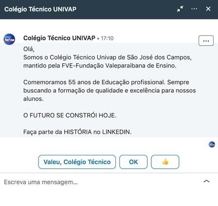 Linkedin inMail 1