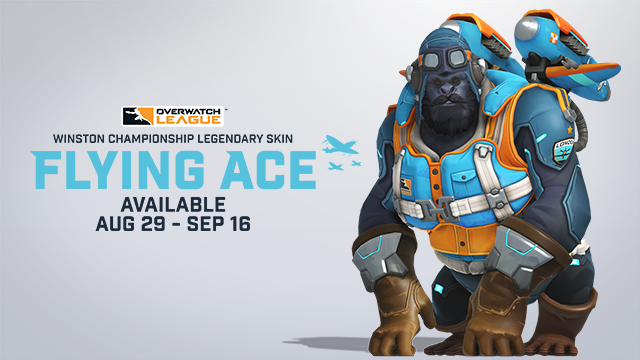 Winston Championship Legendary Skin: Flying Ace