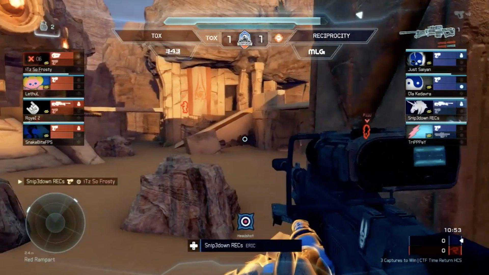 MLG | Video - Snip3down Works an Insane Jump Shot into His Spree