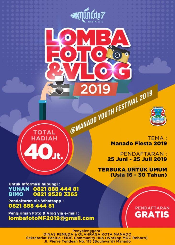 Ada Lomba Foto Berhadiah Jutaan Rupiah Di Manado Youth Festival