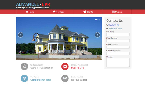 Proposed homepage for Advanced-CPR