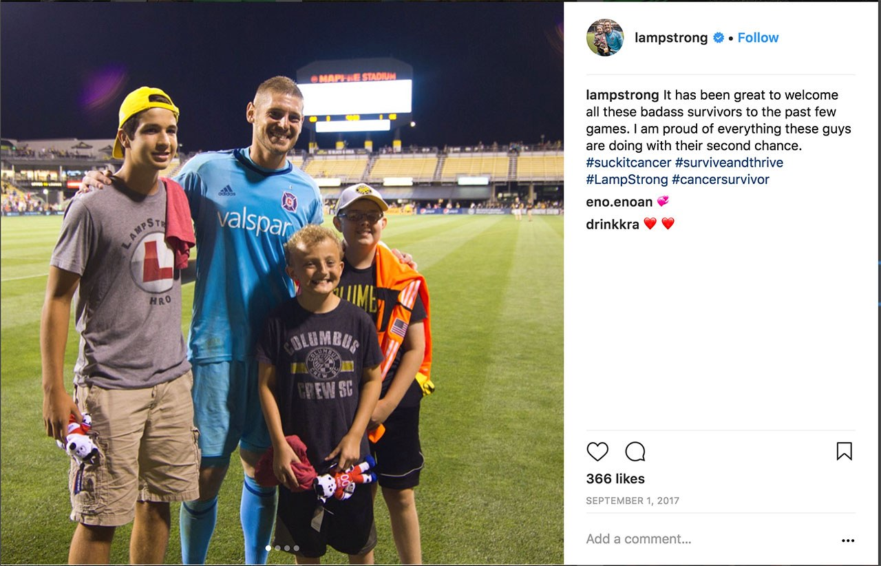 LampStrong Hero with Matt Lampson