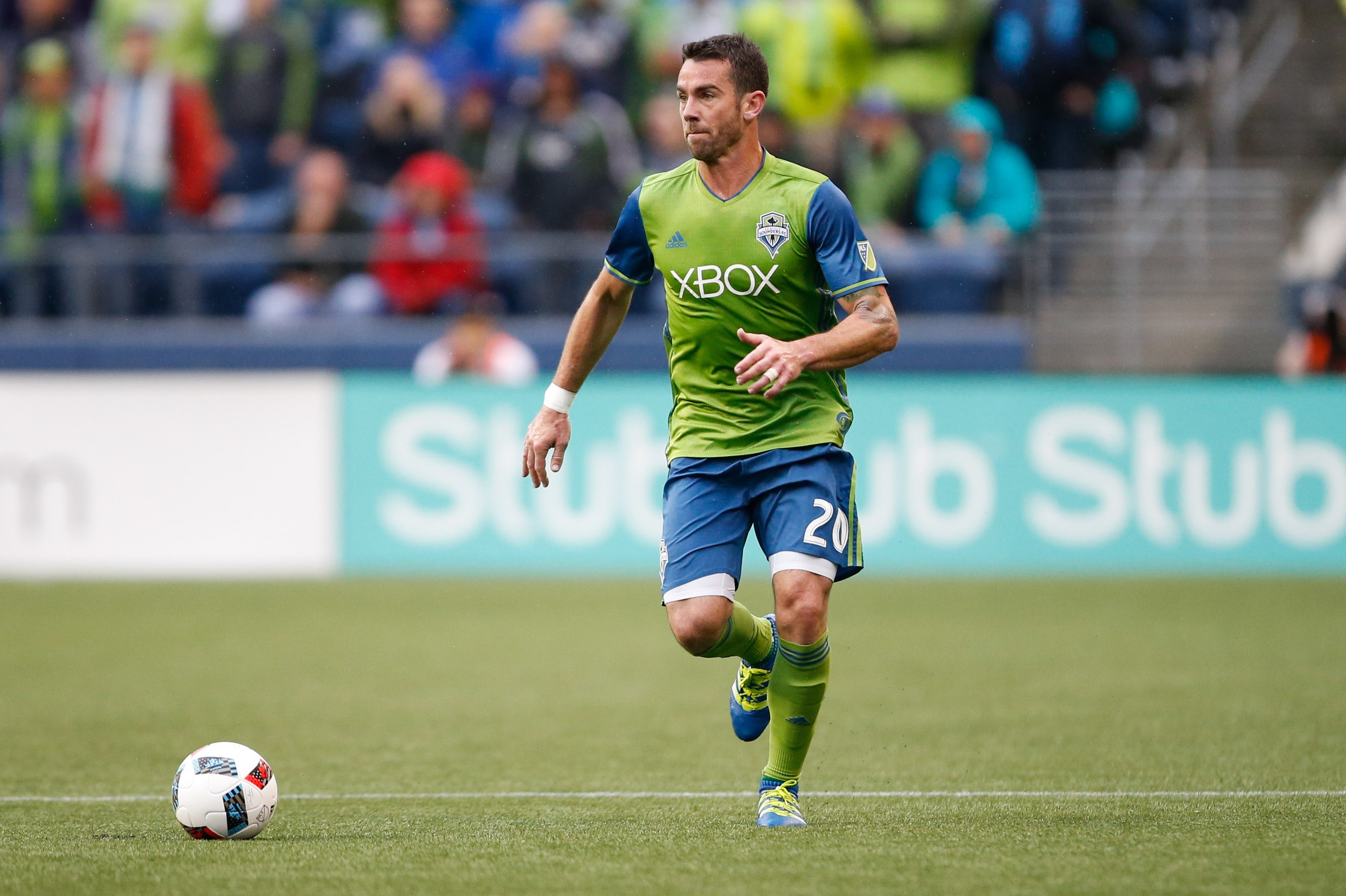 Zach Scott Playing for the Seattle Sounders