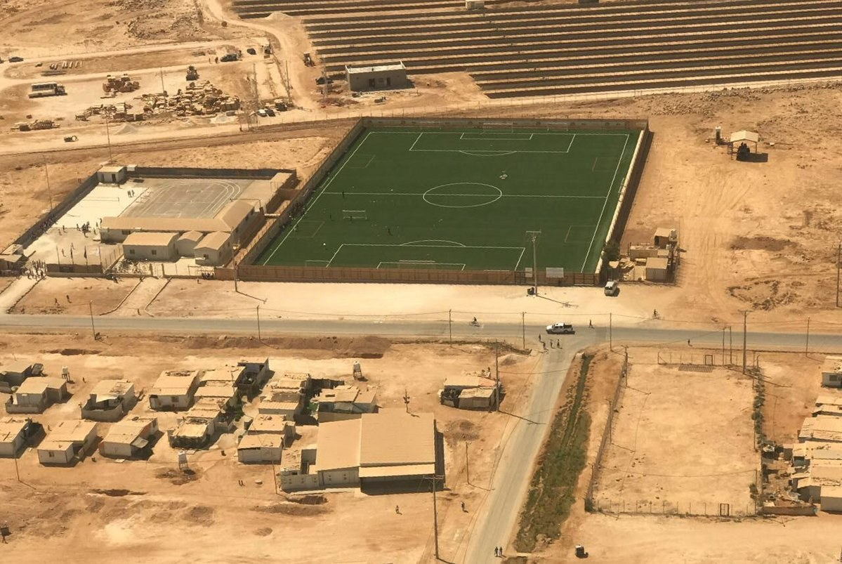 Field at Zaatari