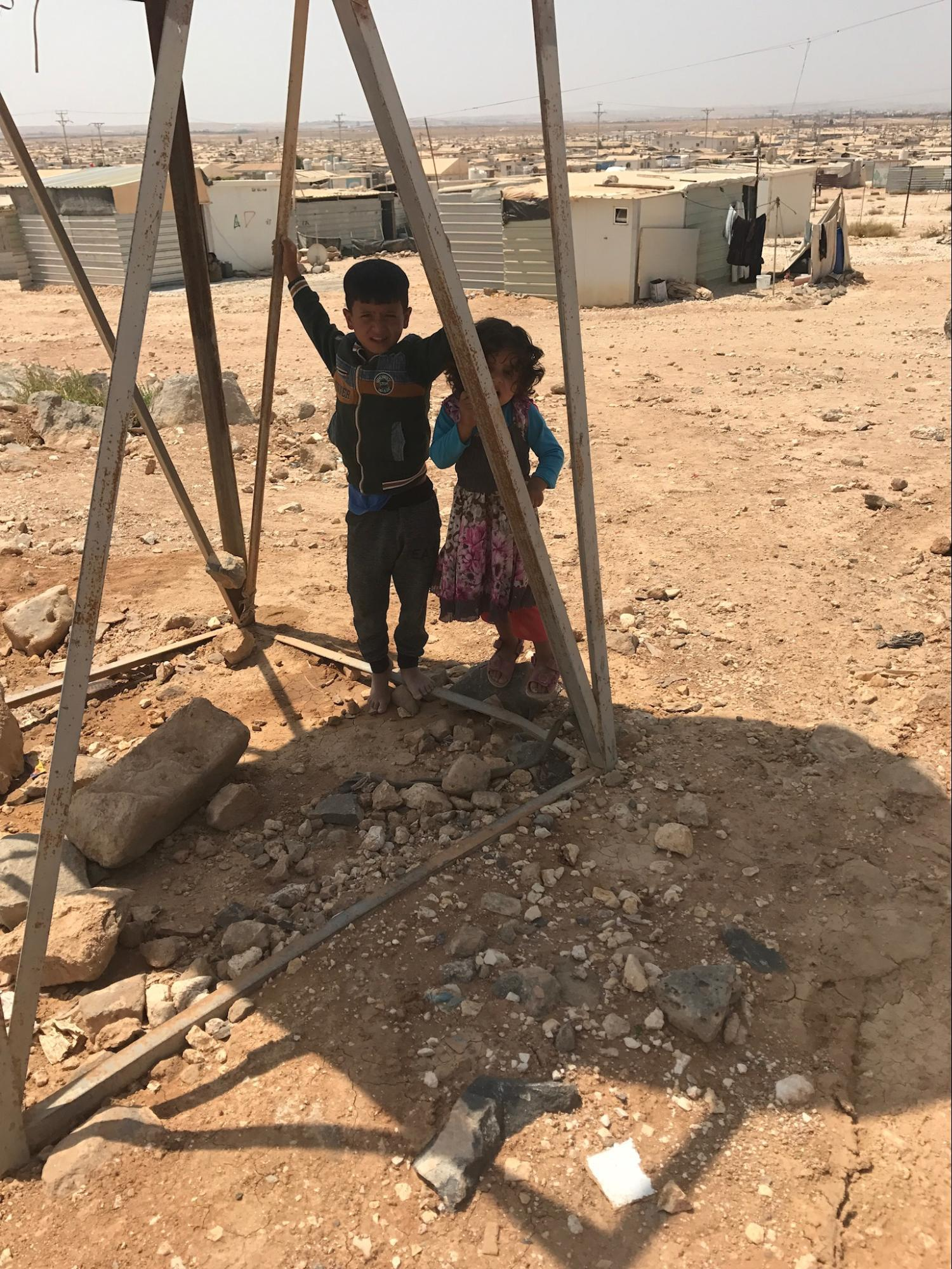 Zaatari Refugee Children