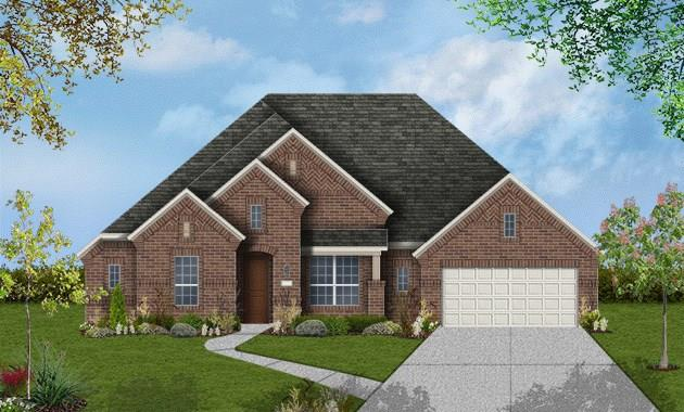 MASTER BED CATHEDRAL CEILING, 1 STORY WITH 4 BEDS AND 3.5 BATH, WOOD FLOORING, GRANITE COUNTERS, SS APPLIANCES, 3 CAR TANDUM GARAGE, COVERED PATIO, FULL SOD AND SPRINKLERS, LEED CERTIFIED HOME. EST. COMPLETION 9/18.