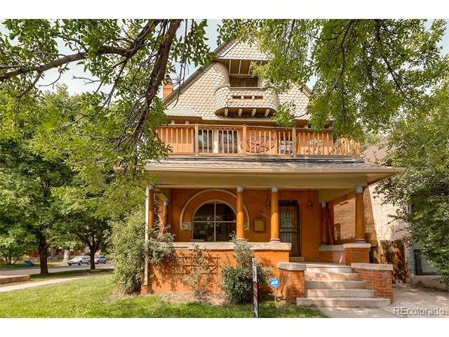 This image is a house in 2005 East 20th Avenue City Park West Denver CO