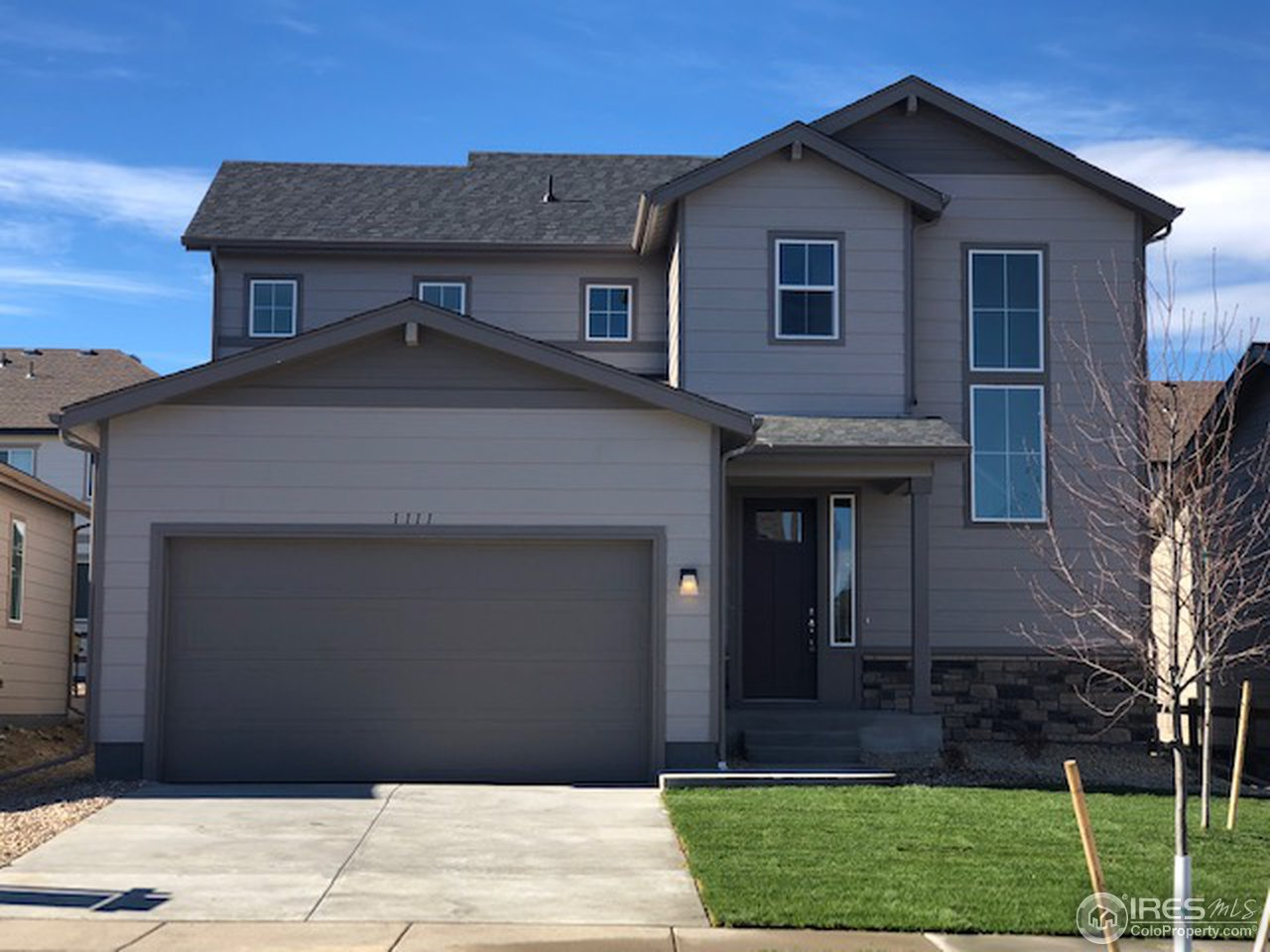 New 2-story with 9' ceilings throughout the main add to its spacious look and feel! Engineered hardwood all throughout the main level. Great kitchen with full tile backsplash and stainless steel appliances. All of the living & gathering areas are found on the main level, with 3 bdrms & 2 full baths privately situated upstairs. Enjoy the added convenience of a 2nd flr laundry. Jack-and-Jill bath between bdrms 2 & 3. Crawl space and front & back yard landscaping included. Lots of windows!!!