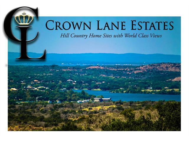 This lot is located on the right hand side of the road once you enter the second gate known as Crown Creek. It is a partially wood area with a view of Lake Buchanan and Inks Lake in the distance. Beautiful lot!