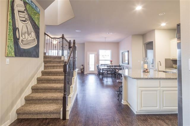 GORGEOUS home on DOUBLE CUL-DE-SAC built in 2015! Loaded with upgrades, including a covered balcony with beautiful view, wood floors, granite counter tops (kitchen and bathrooms), extended covered back patio, large kitchen island/bar. 4 bedrooms and study on one level plus an upstairs BONUS ROOM. Private guest room with full bathroom. Extra storage room upstairs. Crystal Falls master planned community, with parks, swimming pool, and hike/bike trails. Close to shopping and restaurants. This is a MUST SEE!