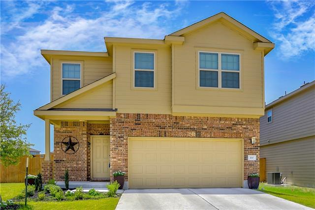 **Estimated $16,000 Under Market** This move-in ready home is well equipped and loaded with features. Finished in 2017, this home includes upgraded lighting, granite countertops, irrigation system, ceiling fans in all rooms, garage ceiling storage, and all appliances (W/D/R/WS/WF included with acceptable offer). It features a big kitchen, bonus room, huge laundry room, a garden tub and the separate shower completes the large master suite. Most maps are incorrect Google for a map: 30.805287, -97.587909