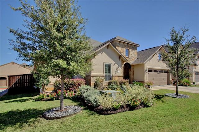 One Story Luxury home in LISD features high-end designer finishes throughout! Home boasts stunning Porcelain tile with mosaic detail, hardwoods, rotunda archway entry & elegant office enhanced w/ wood beams. Chef's kitchen w/ wood-framed hood vent, beautiful custom cabinetry & elegant island is a MUST SEE! Relaxing Master Suite is complete with spa-like bath, double vanities & walk-in closet. With second living area, custom built wet bar, extended covered patio & built-in BBQ, this gem won't last!