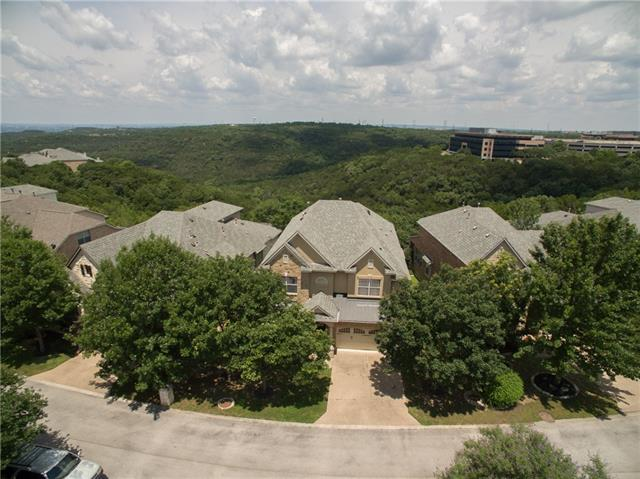 Amazing Balcones Canyonland Preserve Views! One of the largest and most usable lots in this section well over 1/4 acre! Walk across the street to River Place Elementary School! Spacious 3850 sq ft 4 bedroom, 3 bath residence w/ a thoughtful open floorplan featuring views from the kitchen, family room, breakfast area, master bedroom & master bath! Stone, stucco, & brick exterior w/ covered patio & deck. Interior features hardwoods, tile, granite, stainless, wrought iron & walk in shower w/ 2 showerheads!