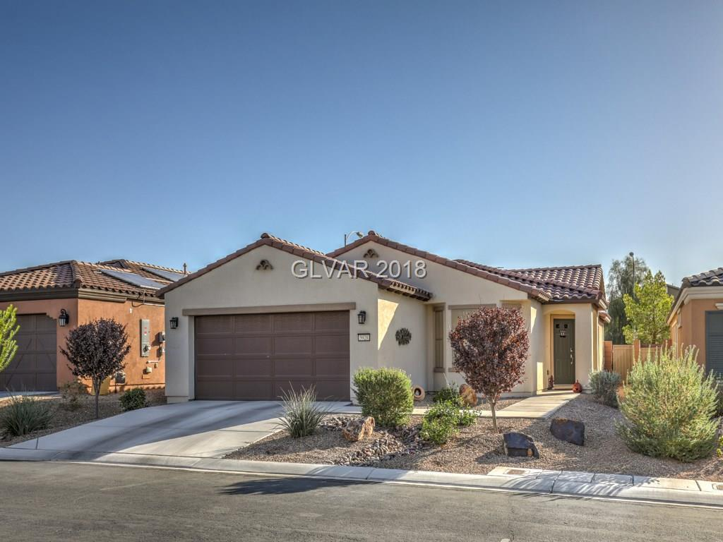 METICULOUSLY MAINTAINED! GUARD GATED 55+ COMMUNITY IN ARDENTE! FABULOUS AMENITIES-COMMUNITY CENTER/POOL/SPA/TENNIS & MORE! LESS THAN 2 YEARS YOUNG! KITCHEN ADOURNS CABINET PULL OUT SHELVES, GRANITE COUNTERS, TILE FLOOOR & LOTS OF CABINET SPACE. MBR SEPARATE FROM SECONDARY BED WITH BAY WINDOW & CELING FAN. MBA WITH LARGE W/I CUSTOM SHOWER & DUAL SINKS. DEN/OFFICE! SOLAR SCREENS & GARAGE CABINETS! DUPURE H2O SYSTEM. REAR YARD WITH EXTENDED PATIO.